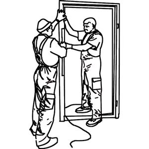 Типичные ошибки при монтаже входных деревянных дверей