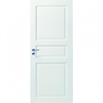 Белые филенчатые двери МДФ
