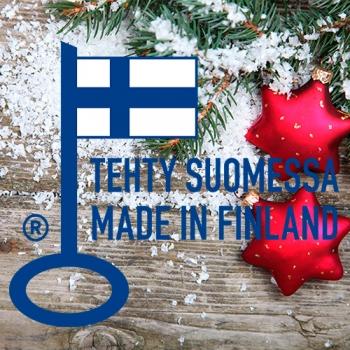 Новогодние скидки на финские входные двери
