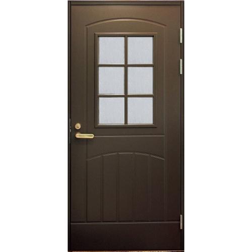 Финская входная дверь JELD-WEN F2000 W71 коричневая