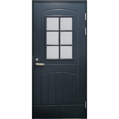 Финская входная дверь JELD-WEN F2000 W71 серая