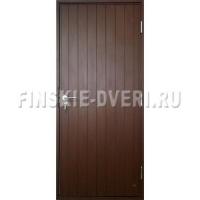 Деревянная входная дверь для дачи Scandi