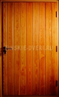 Входная дверь из лиственницы