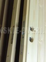 Деревянные двери для дачи EDUX Pekka