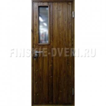 Двери из сосны для дачи