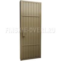 Банная дверь в парную из осины