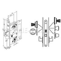 Abloy LC200 замок для входных дверей