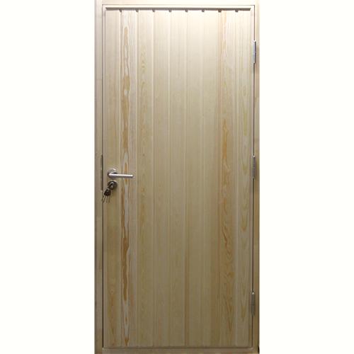 Утепленная входная деревянная дверь Scandi 010 Экстра