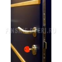 Входная дверь уличная в коттедж Scandoors М011Alum