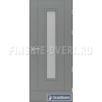 Входные двери с остеклением Scandoors FW032