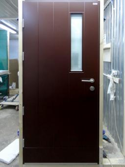 Двери в дом со стеклом Scandoors FW030