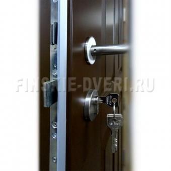 Двери входные деревянные для загородного дома Scandoors С04