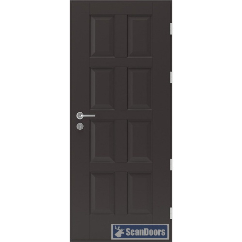 Уличные деревянные двери Scandoors Classic С02