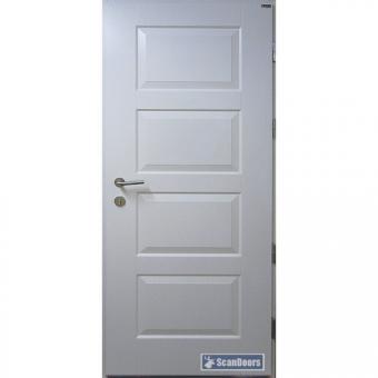 Дверь входная деревянная уличная Scandoors С06