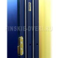 Утепленная входная деревянная дверь Scandoors М01