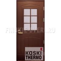 Входная дверь со стеклом Kaski ST2000L THERMO