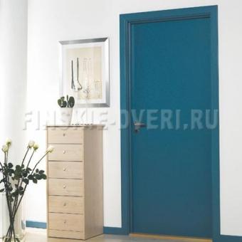 крашенные финские двери