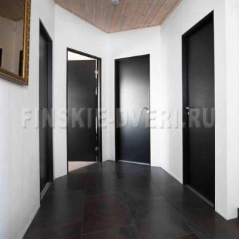 окраска финских межкомнатных дверей