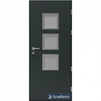 Теплая дверь Scandoors МW016-P