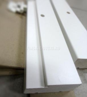 Коробка дверная белая Alavus FT65