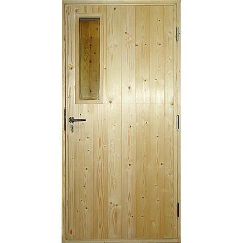 Дверь деревянная входная для дачи Scandi 030