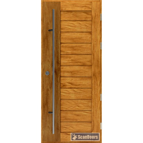 Входные двери из лиственницы Scandoors ArcticWood М05