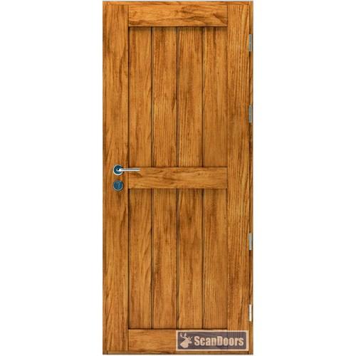 Входная деревянная дверь из массива Scandoors ArcticWood F012