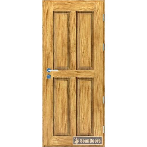 Входные двери Ясень Scandoors ArcticWood C01