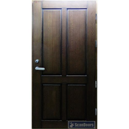 Входные двери из Ясеня Scandoors Wood C01