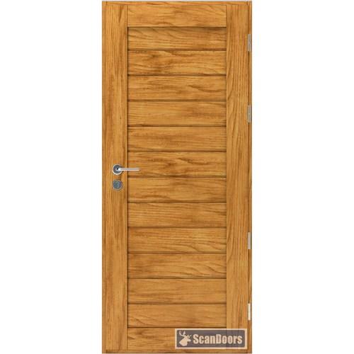 Входная дверь из массива дерева Scandoors ArcticWood F03