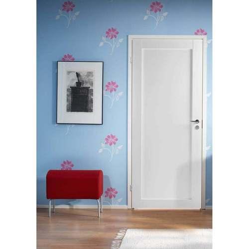 Финская дверь из массива белая UNIQUE 501