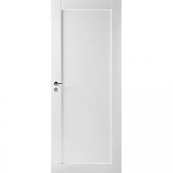 Финская дверь из массива белая N501