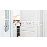 Дверь финская белая четырехфиленчатая N41