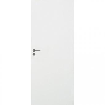 Белая гладкая усиленная шумоизоляционная дверь N200 28dB
