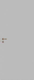 Серая гладкая усиленная шумоизоляционная дверь N200 28dB