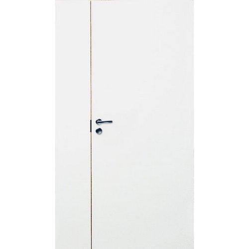 Гладкие полуторные двери N200dB/2018/PARI усиленные с коробкой