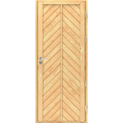 Входная дверь из сосны Scandi Plus 011