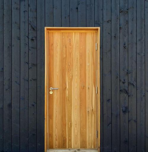 Двери из лиственницы Scandi Plus 012