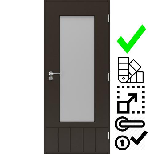 Дверь на террасу Scandoors Easy 0221