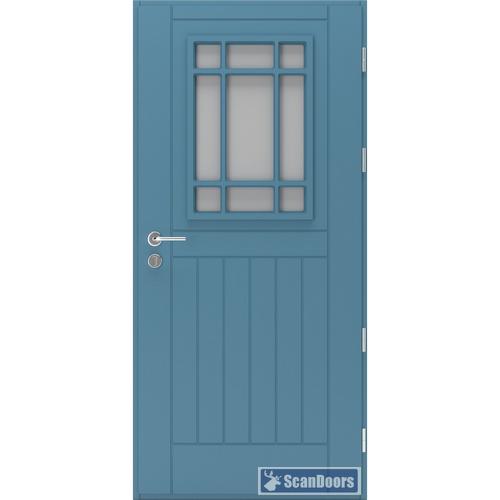 Входные двери со стеклом Scandoors FW0201
