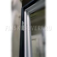 Входные двери в дом со стеклом Scandoors FW033