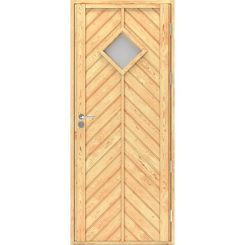 Входная дверь в скандинавском стиле Scandi Plus W041