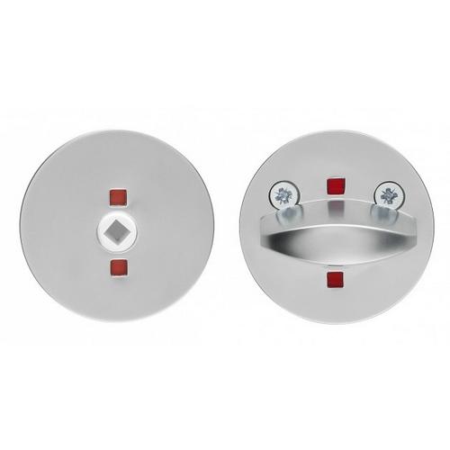Поворотная кнопка «ABLOY» LH007 WC стальная