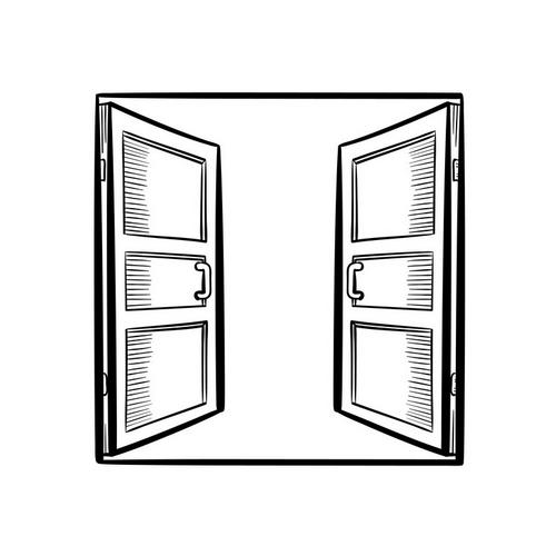 Установка двустворчатой входной двери/входной группы