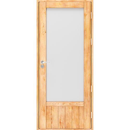 Дверь на террасу из лиственницы Scandi Plus W0221