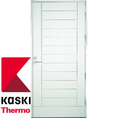 Финская входная дверь Kaski UO6 THERMO белая