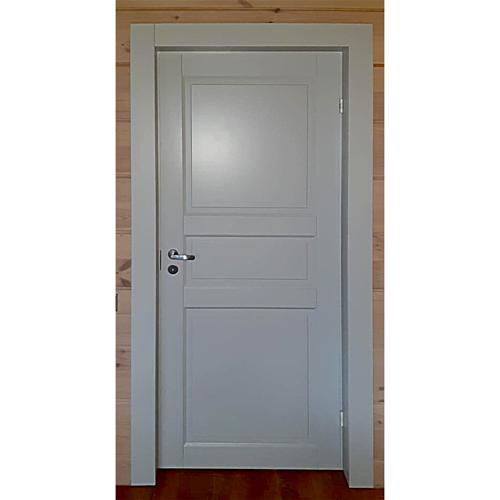 Дверь из массива сосны белая N101