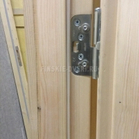 Деревянные двери двупольные