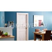 Дверь N51 под белым лаком с коробкой